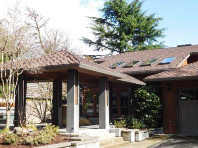 Beautiful Home Roof Shingles